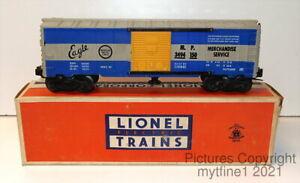 ~ LIONEL #3494-150 - MP MISSOURI PACIFIC OPERATING BOXCAR with ORIGINAL BOX ~