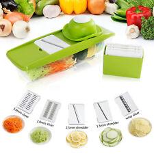Lifewit Mandoline Slicer Set Gemüsehobel Gemüseschneider 5 in 1 Multischneider