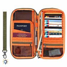 Coach Passport Case Travel Wallet Holder Organizer Document Checkbook Cover NEW
