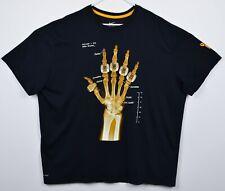 Nike Kobe Bryant Men's 3XL X-Ray 5 Rings Fracture Black Mamba Dri-Fit T-Shirt