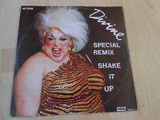 "Divine   Shake It Up (Special Remix)  1983 Dutch 12""    HI NRG EURO DISCO"
