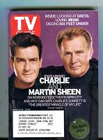 TV Guide Magazine March 2-8 2002 Charlie Sheen EX w/ML 121516jhe