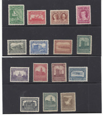 NEWFOUNDLAND 145-59 MLH/H TRAIN, ROYALTY, SHIP, AIRPLANE, ARCHITECTURE