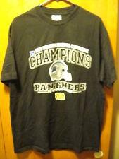 CAROLINA PANTHERS 2003 NFC CHAMPS ~ XL ~ 1ST Super Bowl ~ T Shirt EUC