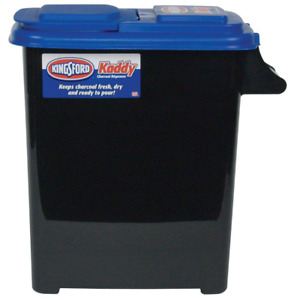 Kingsford Charcoal Storage Dispenser 8 Gallon Holds up to 23 lbs of Charcoal