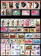 ZY346 TOGO 50 timbres :costumes militaires,les chiens,sport,fleurs,animaux