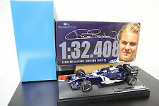 F1 Williams FW28 GP Bahrain ´06 Rosberg #10 Fastest Lap 1:18 limited Box