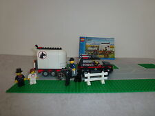LEGO City 7635 chevaux voiture + Obadiah +2 rues +2 personnages + * RARE *