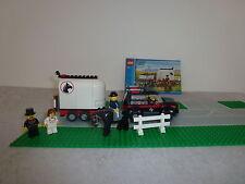 Lego City 7635 Pferdewagen+ OBA  +2 Strassen+2Figuren+ *Rarität*