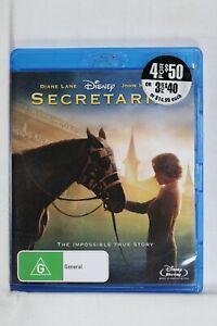 Secretariat, Walt Disney Horse Drama Blu-ray Reg B A C Like New (D647)