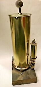 Antique Brass Hand Pump Boat Whistle