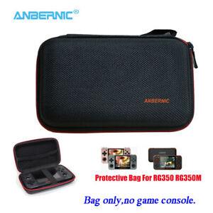 For RG350 Data Line Storage Case Bag Retro Game Console Protect Bag Protective