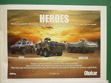 2/2011 PUB OTOKAR ARMOURED TACTICAL VEHICLES COBRA ARMA 6X6 ARMA 8X8 ARMY AD