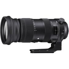 Sigma 60-600mm F4.5-6.3 DG OS HSM Sport Series Lens: Canon EF Mount