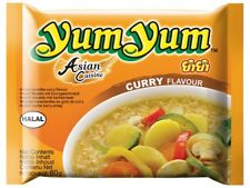 10 YumYum CURRY Instant Nudelsuppen 10 x 60g Yum Suppe Currygeschmack