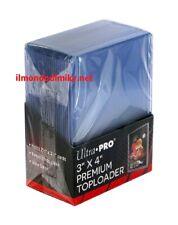 """ULTRA PRO Proteggi carte rigido 3""""x4"""" (76mm x 102mm) pacco da 25 pz Toploader"""
