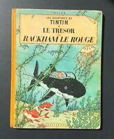 Les aventures de Tintin. Le trésor de Rackham le rouge. Casterman 1956 B20