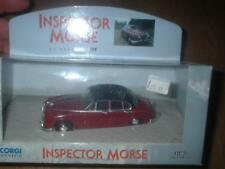 CORGI 01803 1:43 JAGUAR 2.4 INSPECTOR MORSE TV SERIES MINT CONDITION DIECAST MIB