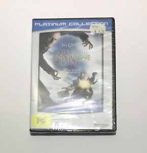 A Series Of Unfortunate Events - DVD - Region 4 - New/Sealed - Lemony Snicket