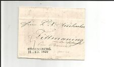 Th & T / FRANKFURT Kabinett-Forwarded-Brief m. Bay.-L2 REGENSBURG 11. FEB. 1837