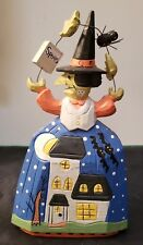 """Midwest Of Cannon Falls Halloween Wood Witch - 8"""" Tall"""