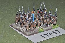 15mm napoleonic french infantry 24 figures (17437)