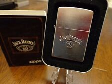 JACK DANIEL'S TENNESSEE WHISKEY STAMPED ZIPPO LIGHTER MINT IN BOX 2006