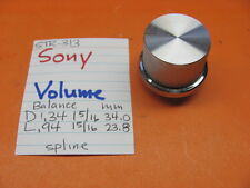 Sony 2 Stück Split Volume Balance Knob Set STR-313 Stereo Receiver