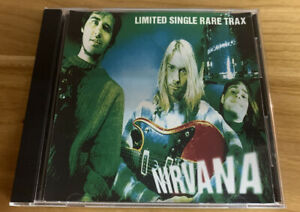 Nirvana Limited Single Rare Trax CD 90s Bootleg CD Hard To Find Collectible CD