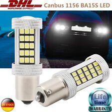 LED 1156 BA15S Rückfahrlicht Tagfahrlicht Birnen für VW Golf Audi Canbus x2