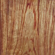 "African Bubinga Kewazinga wood veneer 15"" x 28"" no backing raw veneer 1/32"""