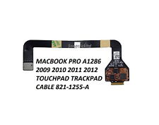 MACBOOK PRO A1286 2009 2010 2011 2012 TOUCHPAD TRACKPAD CABLE 821-1255-A D51