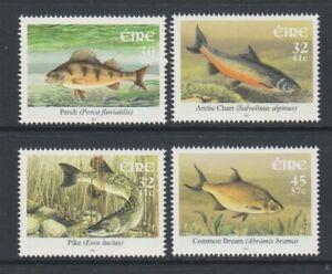 Ireland - 2001, Freshwater Fish set - MNH - SG 1457/60