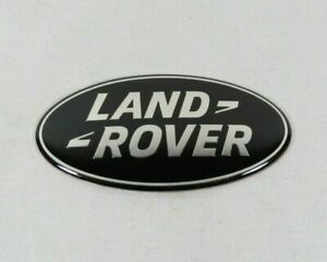 LAND ROVER LR2 LR4 GRILLE EMBLEM FRONT GRILL BLACK OVAL BADGE sign symbol logo
