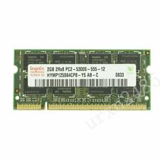For Hynix 2GB 1GB DDR2-667MHz PC2-5300S 200Pin SODIMM Laptop Memory Non-ECC LOT