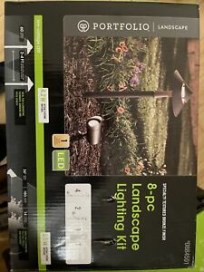 8-pc Landscape Lighting Kit   2 Sets Free Shipping