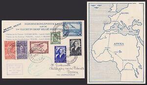 Belgium + Congo on AIrmail Pcard to Leopoldville 1937 - PAR AVION PELICAN..X2562