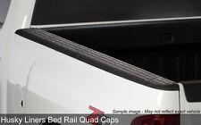 Quad Caps Side Bed Rail Protectors 2007-2013 Chevy Silverado 1500 5.8ft Bed
