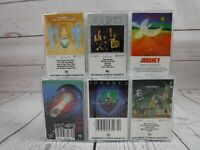 Cassette Tape Lot x6 JOURNEY Self Titled Future Next Evolution Dream Escape