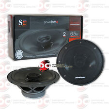 "Brand New Powerbass 6.5-Inch 2-Way Car Audio Coaxial Speakers (Pair) 6-1/2"" 300W"