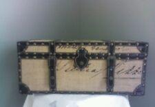 Vintage style trunk  decorative storage chest