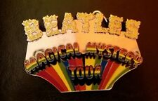 THE BEATLES MAGICAL MYSTERY TOUR ENAMEL BELT BUCKLE OFFICIAL APPLE CORPS 2007