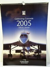 calendar celebrating concorde british airways - Calendrier concorde 2005