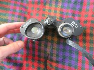 Tasco Binoculars - Model 308 - 8x30 - Spares / Repairs as Parts Missing