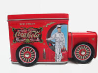 Coca-Cola Tin Delivery Truck with Wheels Bank - BRAND NEW