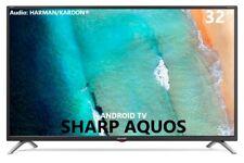 "Televisore SMART TV SHARP AQUOS 32"" LED HD Decoder DVB-T2 HDMI ANDROID 32BI3EA"