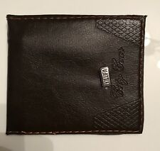 Young  boy / man's Wallet with internal zip area Great gift as first Wallet