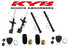 4-KYB Excel-G Struts/Shocks Front Mounts,Dust Boots (2-Front & 2-Rear) MDX Pilot
