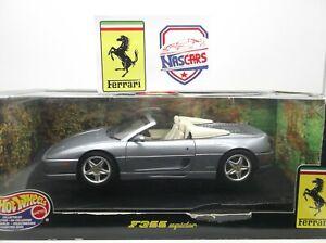1:18 Hot Wheels Ferrari F355 Spider 1995 Silver