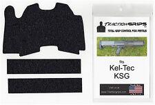 TractionGrips rubber grip tape overlay for Kel-Tec KSG shotgun grips / keltec